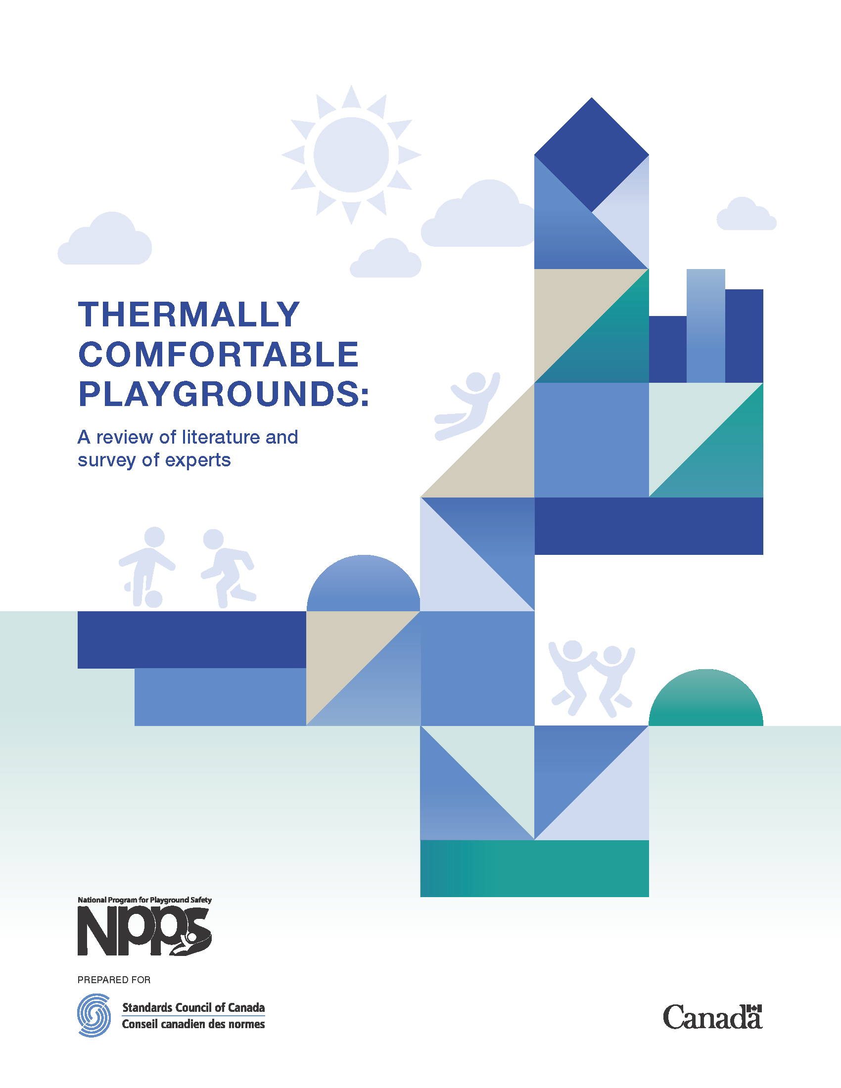 Thermal comfort report cover page